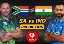 IND vs SA 3rd T20 Dream 11 Team Prediction Today (100% Winning Team)