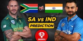 ICC World Cup 2019, IND Vs SA 8th Match, Dream 11 Team Predictions