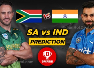 ICC World Cup 2019, IND Vs SA 8th Match, Dream 11 Team Predictions