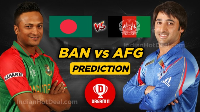 ICC WC 2019, 31th Match: Ban vs AFG Dream11 Team Prediction Today