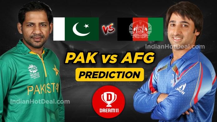 AFG vs PAK Dream11 Team Prediction Today- ICC WC 2019 36th Match