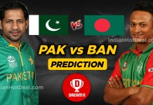 PAK vs BAN 1st T20 Dream11 Team Predictions Today