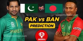 PAK vs BAN 2nd T20 Dream11 Team Predictions Today