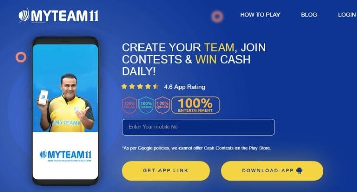 MyTeam11 Fantasy Apk App Download For Android Free Latest Version