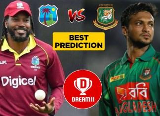 WI vs BAN, Final ODI: Dream11 Team Prediction Today Match, Playing XI