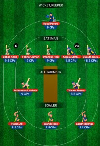 SL vs PAK My11Circle Fantasy Team Preview