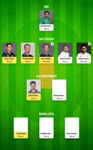 Fanfight Team For Today PAK vs NZ Match