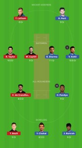 1st Semi Final IND v NZ Dream11 Team For Small Leagues