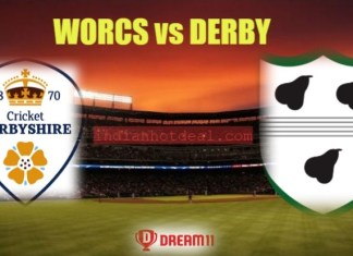 WORCS vs DERBY Dream11 Team Prediction, English T20 Blast 2019