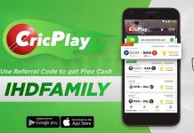 cricplay referral code