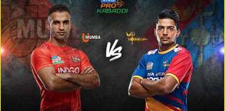 Vivo Pro Kabaddi - MUM vs UP Dream11 Team Prediction Today