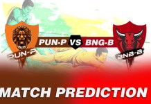 BLR vs PUN Dream11 Team Prediction Today, 100% Winning Teams