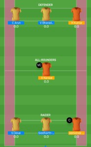 HYD vs MUM: MyTeam11 Fantasy Kabaddi Team For Todays Match