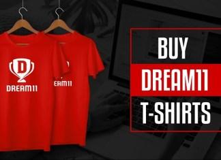 buy dream11 tshirts