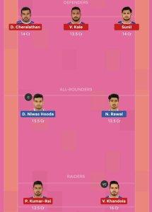 Pro Kabaddi JAI vs HAR Dream11 Team For Head To Head League