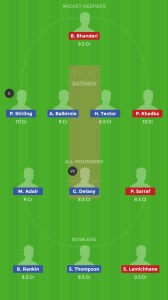 IRE vs NEP Dream11 Team for grandl league