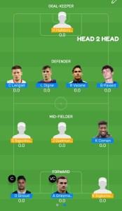 FRA vs ICE MyTeam11 Fantasy Football H2H Team For Today's Match