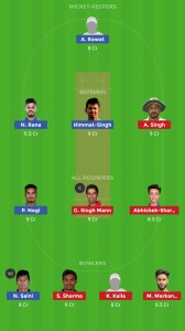 PUN vs DEL DREAM11 TEAM FOR Grand League