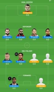 RM vs BRU Myteam11 Fantasy Football Team (H2H)