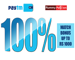 rummy passion paytm offer