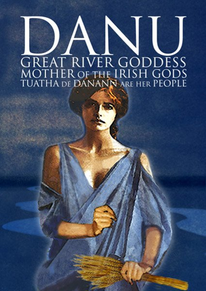 Danu, mother goddess of the Irish and Celtic people.