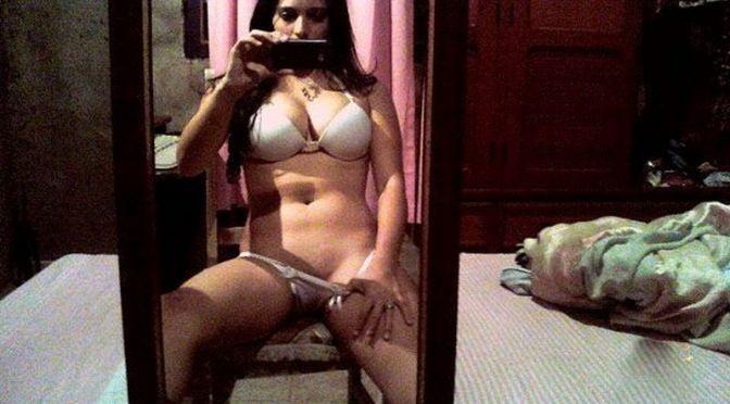 Beautiful Indian Amateur Girl Nude Selfies Showing Ass