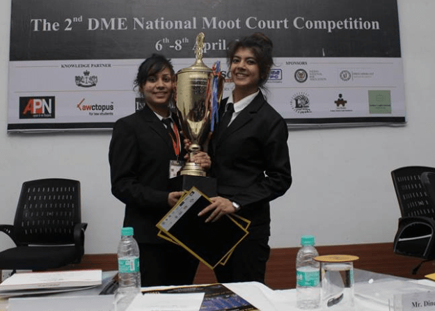 Interview: Winning Team of THE 2nd DME NATIONAL MOOT COURT COMPETITION, 2018