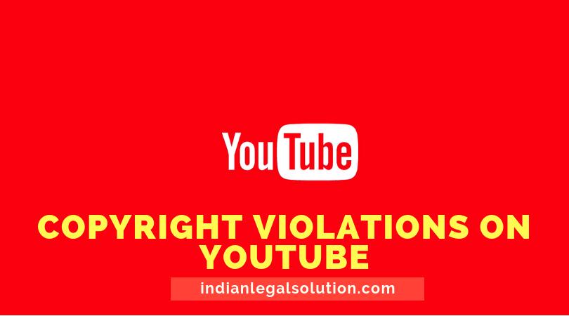 Copyright violations on YouTube.