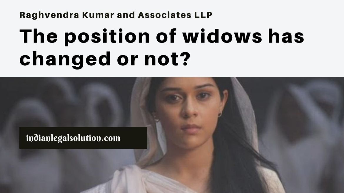 The position of widows has changed or not?