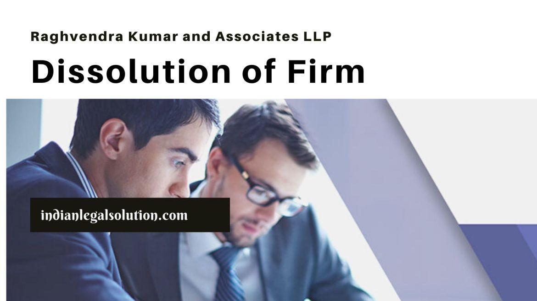 Dissolution of Firm