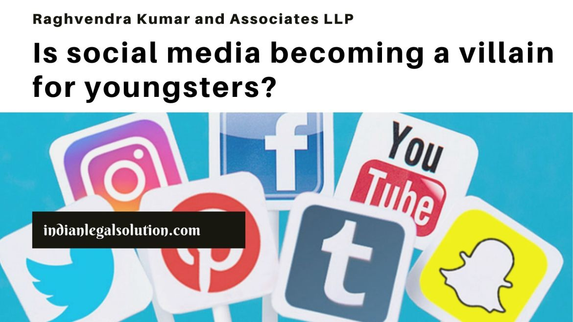Is social media becoming a villain for youngsters?