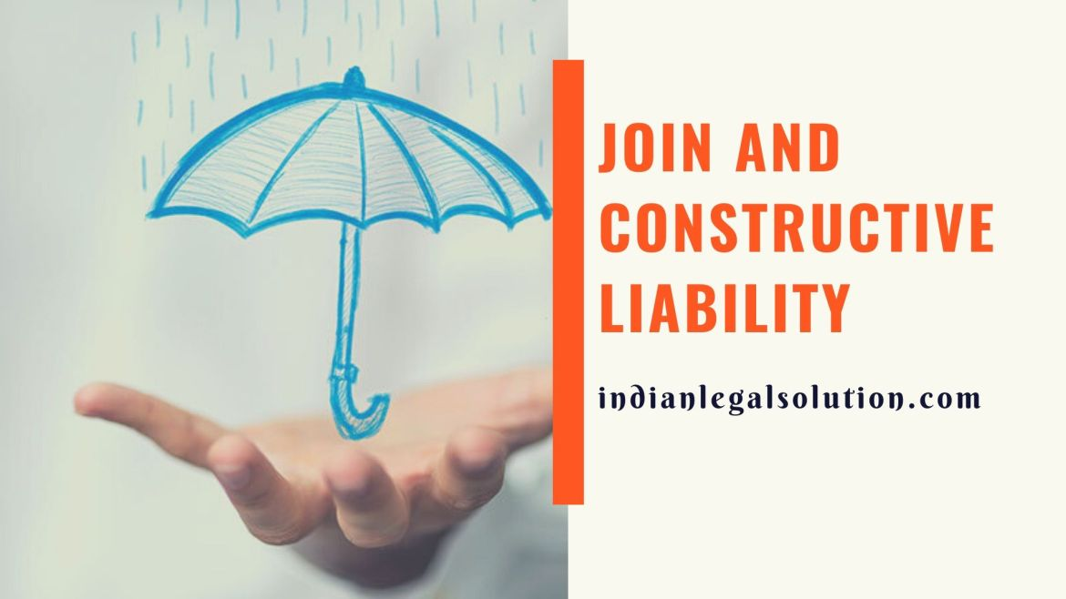 Join and Constructive liability