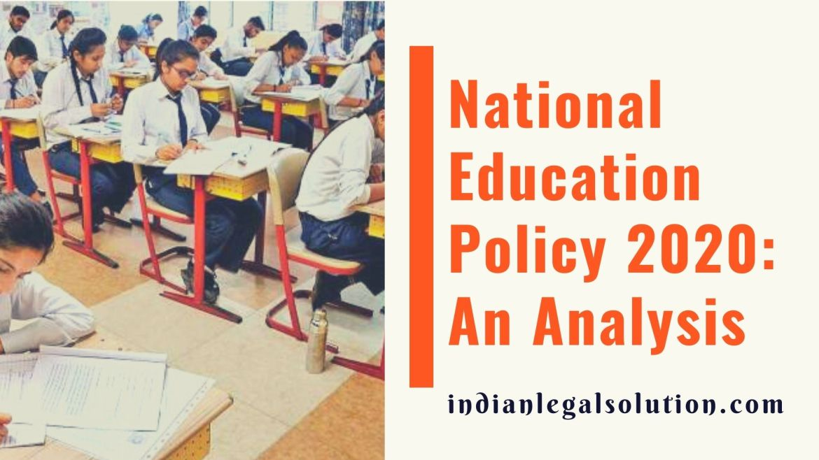 National Education Policy 2020: An Analysis