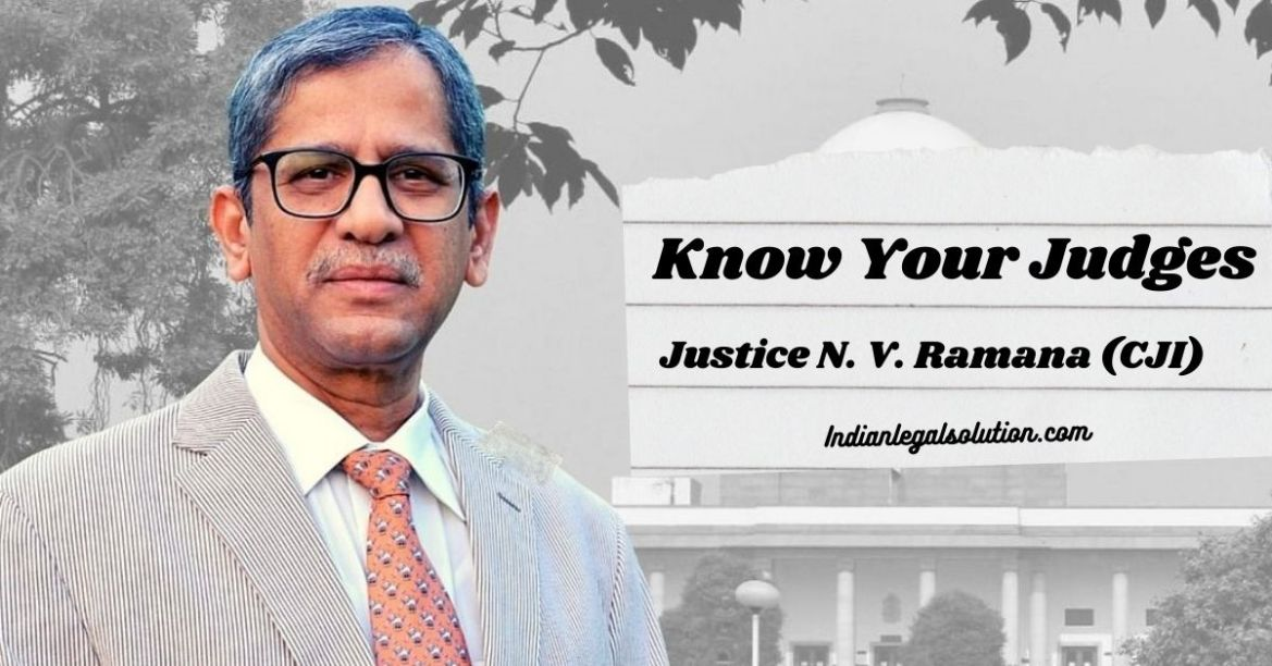Justice N. V. Ramana (CJI): Know Your Judges