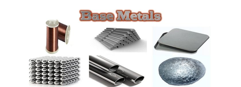 Base metals opened gap down amidst negative data from China.