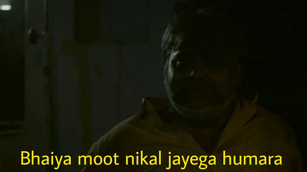 bhaiya moot nikal jayega humara mirzapur season 2 meme template