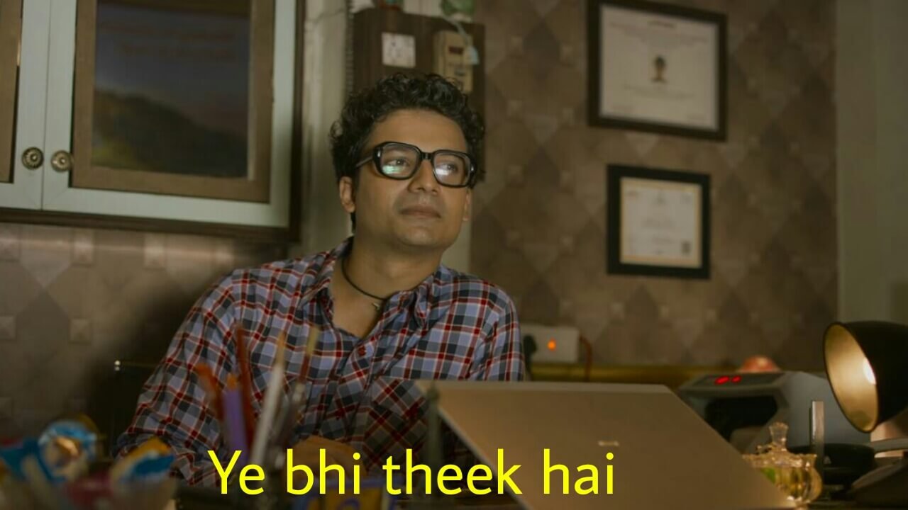 Ye bhi theek hai Mirzapur 2 dialogue and meme