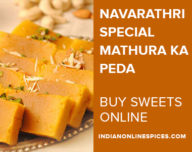 Navaratri Special Mathura Ka Peda | Buy sweets online