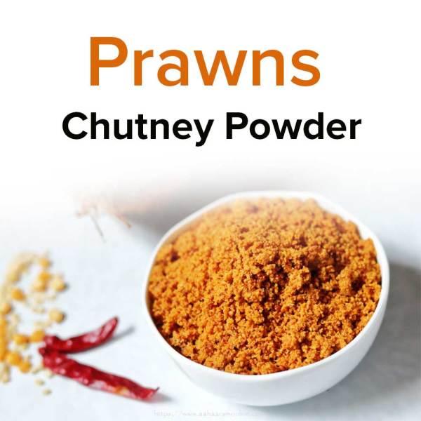 prawns chutney powder