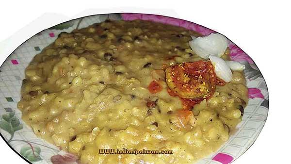 Mutton haleem khichda recipe