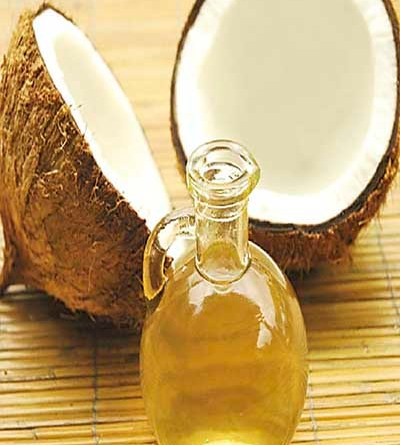 Homemade coconut oil at home