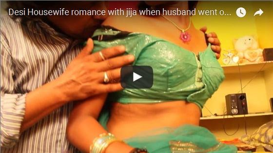 Desi Housewife romance with jija when husband went out II Hot Short Film 2016 - YouTube