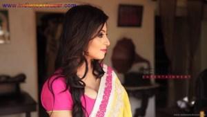 इंडियन रंडी साड़ी ब्लाउज में मोटे मोटे बोबे दीखते हुए Indian Randi In Yellow Saree Xxx (6)