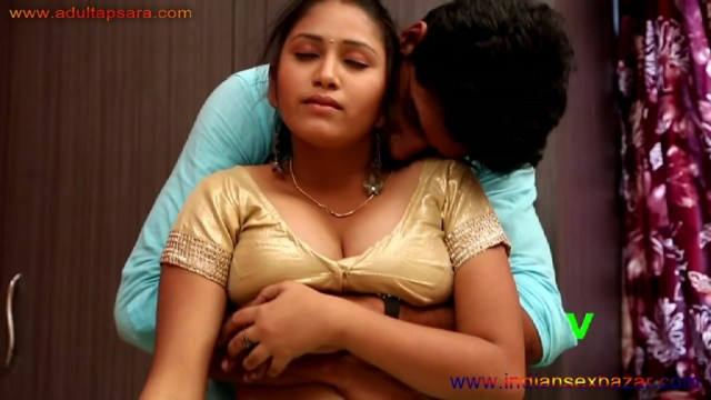 देवर सेक्सी भाभी के बूब्स जोर जोर से दबा रहा है Dever Pressing Hot And Sexy Bhabhi