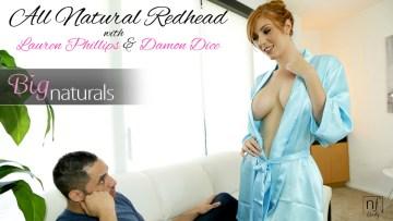 All Natural Redhead Damon Dice Lauren Phillips Hd Porn Video
