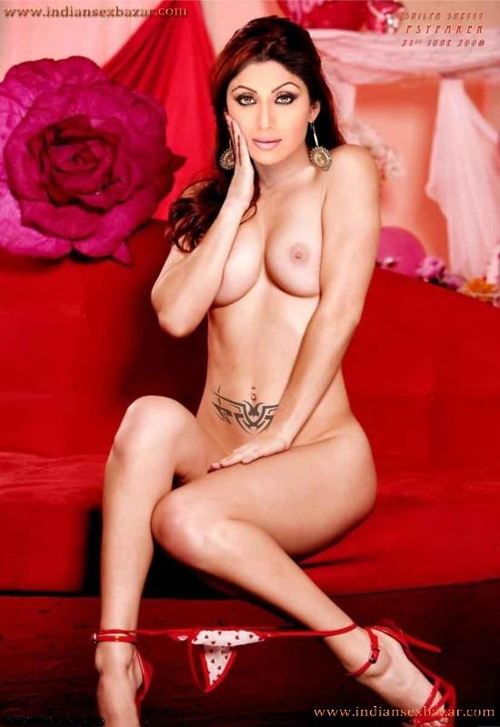 Bollywood Actress Shilpa Shetty Nude Leaked XXX Porn Photos 6