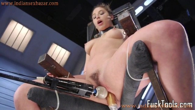 Sex Toy And Dildo In Girls Pussy XXX Photos Naked Girl Tied To Chair And Pussy Torturing Hardcore Pic 2