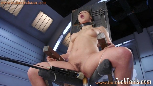 Sex Toy And Dildo In Girls Pussy XXX Photos Naked Girl Tied To Chair And Pussy Torturing Hardcore Pic 3