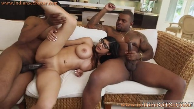 Mia Khalifas Mouth And Pussy Fucked By 2 BBC Threesome Full HD Porn Video And XXX Porn Pic Gallery 3