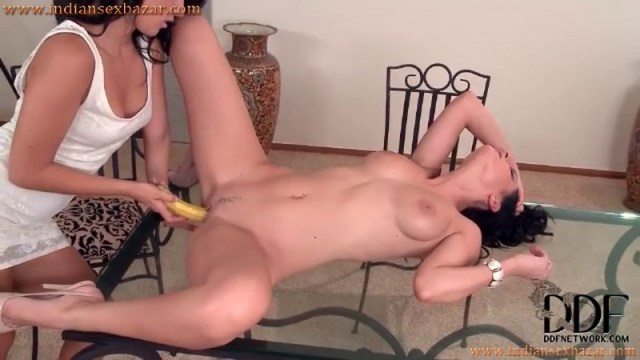 Lesbian Girls Masturbating With Banana Full HD Porn Video And XXX Sex Pictures 2